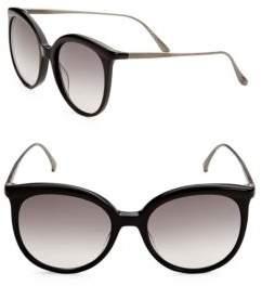 Bottega Veneta 53MM Oversized Round Sunglasses