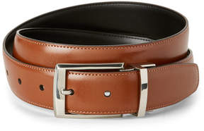 Perry Ellis Tan & Black Amigo Reversible Belt