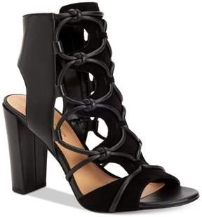 BCBGeneration Faye Peep-Toe Sandals