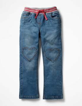 Boden Heart Patch Jeans
