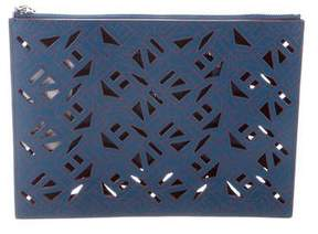Kenzo Flying Leather Clutch w/ Tags