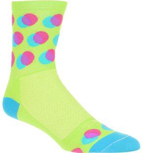 DeFeet Blurred 4in Sock