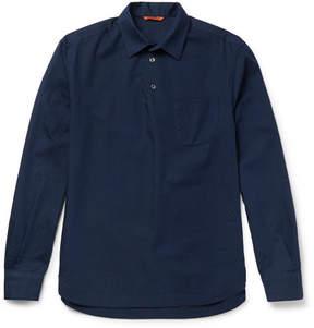 Barena Pavan Dalma Cotton-Jacquard Shirt