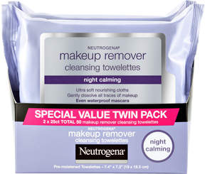 Neutrogena Night Calming Makeup Remover Towelettes Twin Pack