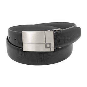 Florsheim Embossed Lizard Grain Leather Belt