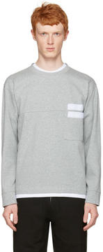 Marni Grey Velcro Pocket Pullover