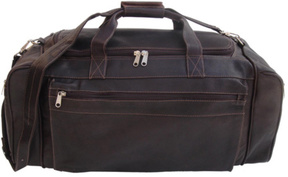 Piel Leather Large Duffel Bag 7708