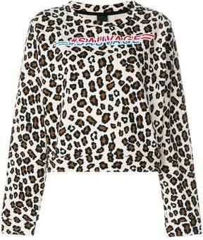 Pinko leopard print jumper