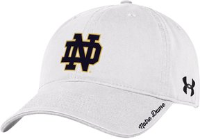 Under Armour Women's Notre Dame Fighting Irish Relaxed Adjustable Cap