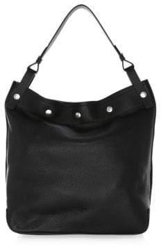 Rag & Bone Compass Snap Leather Hobo Bag
