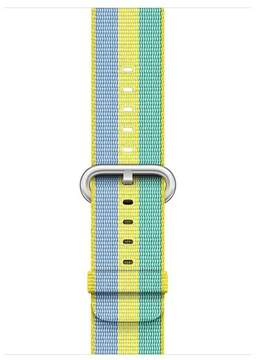 Apple 42mm Pollen Stripe Woven Nylon