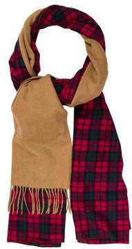 Donni Charm Wool-Accented Plaid Shawl w/ Tags