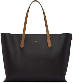 Givenchy Black GV Shopper Tote