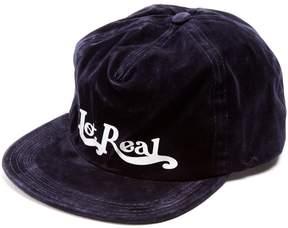 Off-White Not Real-print velvet cap