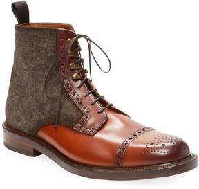 Antonio Maurizi Men's Leather Brogue Boot