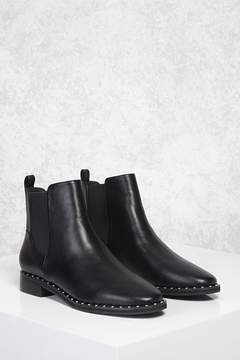FOREVER 21 Studded Chelsea Boots