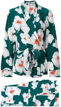 Equipment floral suit jacket