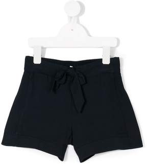 Chloé Kids bow front shorts