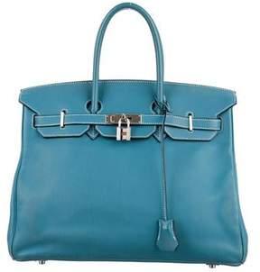 Hermes Swift Birkin 35 - BLUE - STYLE