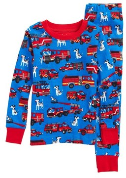 Hatley Toddler Boy's Organic Cotton Fitted Two-Piece Pajamas