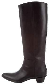 CNC Costume National Knee-High Leather Boots