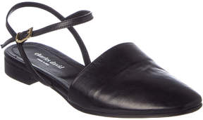 Charles David Mellow Leather Flat