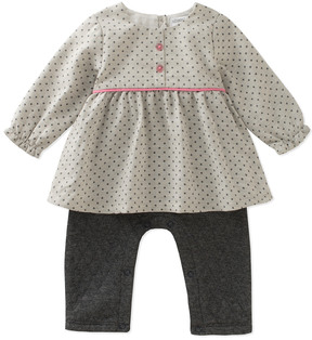 Absorba Girls' Popover Coverall