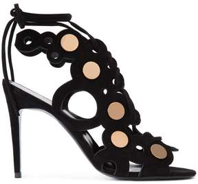 Pierre Hardy gold-tone detail sandals