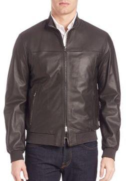 Pal Zileri Leather Jacket