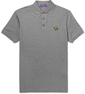 Ralph Lauren Purple Label Cotton-Piqué Polo Shirt