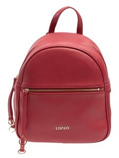 Liu Jo Women's Red Polyester Backpack.