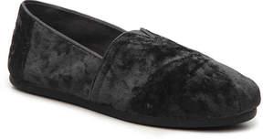 Toms Women's Alpargata Velvet Flat