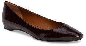 Aquatalia Women's Marcella Weatherproof Leather Flat