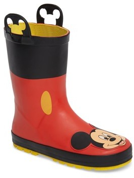 Western Chief Boy's Mickey Mouse Rain Boot