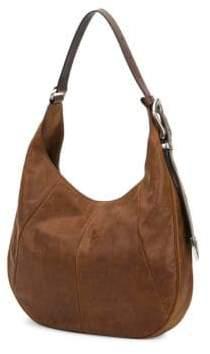 Frye Jacqui Leather Hobo Bag
