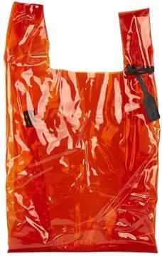 Jil Sander Orange Plastic Handbag