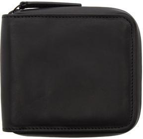 Ann Demeulemeester Black Alana Zip Wallet