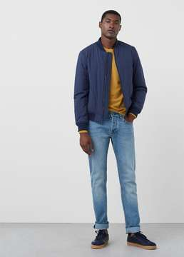 Mango Outlet Straight-fit light wash Brett jeans
