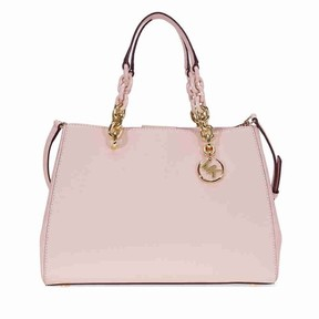 Michael Kors Cynthia Saffiano Leather Satchel - Soft Pink - ONE COLOR - STYLE