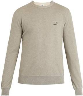 C.P. Company Logo-print cotton sweatshirt