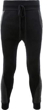 Haider Ackermann panelled drawstring trousers