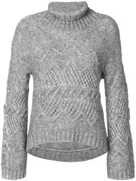 Ermanno Scervino roll neck jumper
