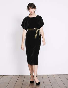 Boden Robyn Velvet Dress