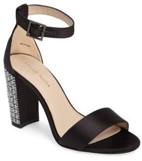 Pelle Moda Women's Bonnie 3 Embellished Ankle Strap Sandal