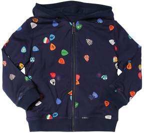 Paul Smith Reversible Hooded Cotton Sweatshirt