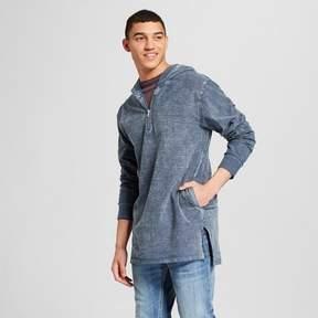 Jackson Men's Long Sleeve Split Hem Hooded Sweatshirt Light Blue