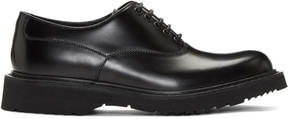 Prada Black Creeper Derbys