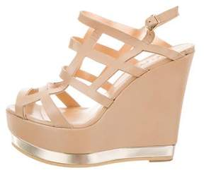 Ritch Erani NYFC Leather Cage Wedges