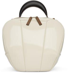 Marni White PVC Battle Bag