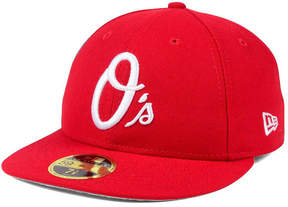 New Era Baltimore Orioles Low Profile C-dub 59FIFTY Fitted Cap